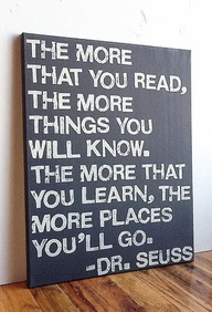 The More Places You'll Go - Dr. Seuss