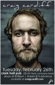 craig cardiff @ clark hall pub, Feb 26